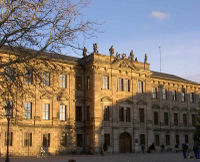 The Erlangen castle is home of a large part of the university administration
