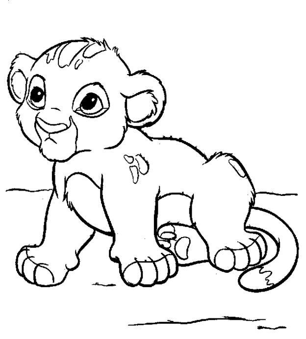 ediverseimagini de colorat pt copii din desene animate101 dalmationslion king