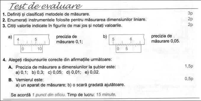 FISA DE LUCRU - CLASA A VII-A TEHNOLOGIE - Sublerul