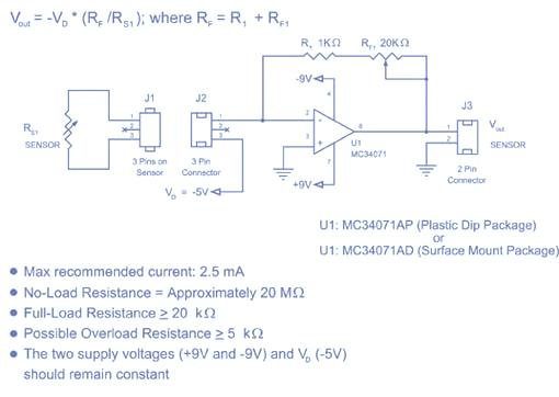 Flexiforce Sample Excitation Circuit